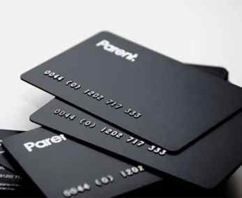 Black Plastic Business Card With Silver Embossing by Best Plastic Cards