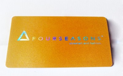 Four Seasons Plastic VIP Card by Best Plastic Cards