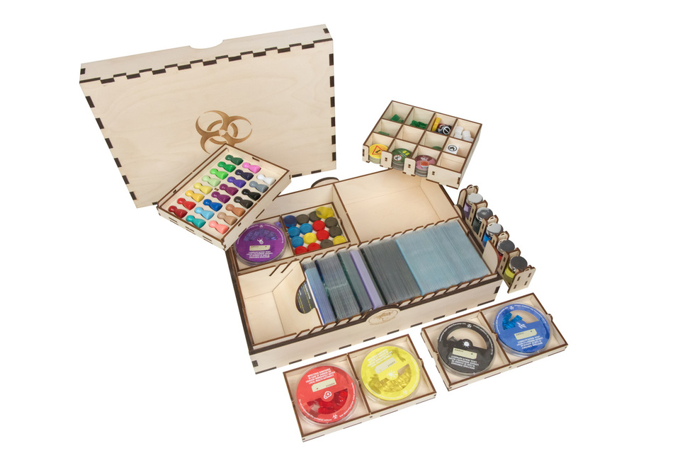Pandemic Wooden Box