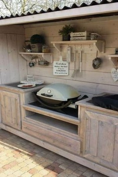 53 gorgeous outdoor kitchen cabinets 15