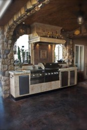 53 gorgeous outdoor kitchen cabinets 29