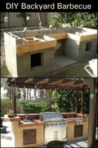 53 gorgeous outdoor kitchen cabinets 51