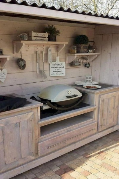 53 gorgeous outdoor kitchen cabinets 6