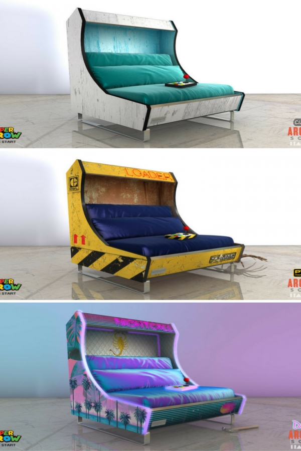 73 Most Popular Video Game Room Furniture Decor-931