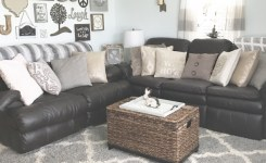Cozy Rustic Farmhouse Glam Chic Inspired Living Room In Neutral