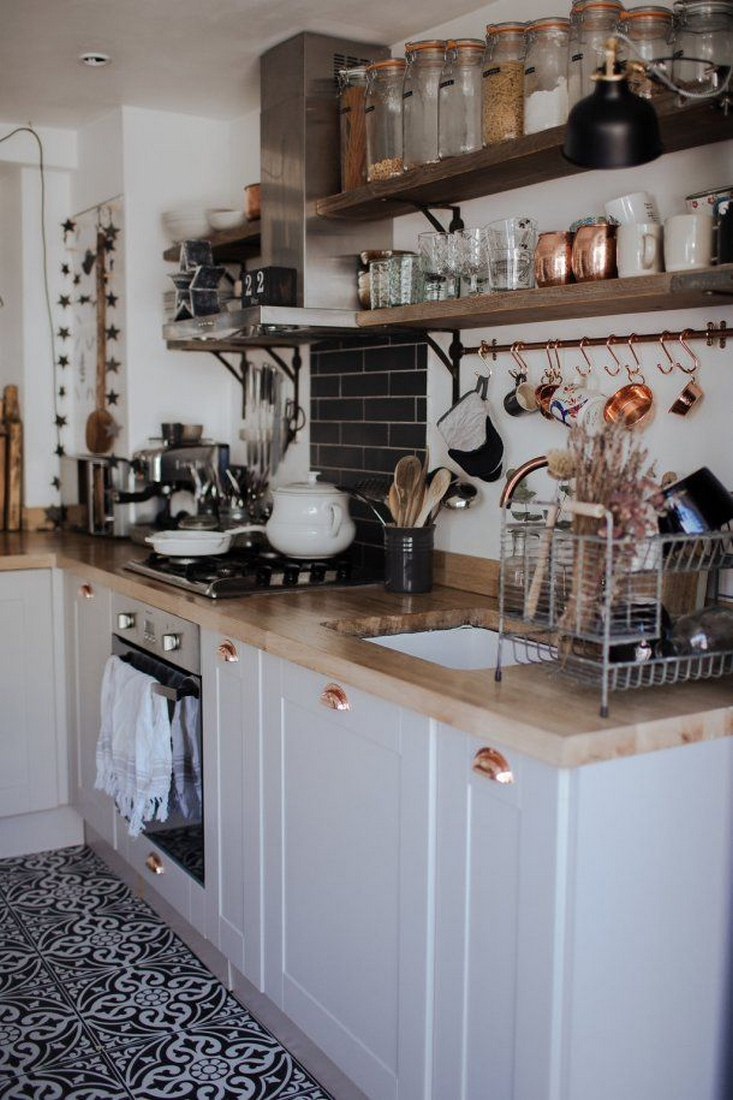 35 Kitchen Shelves Ideas That Make Your Kitchen Look Neat Tips On How To Choose The Right Unit 1