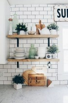 35 Kitchen Shelves Ideas That Make Your Kitchen Look Neat Tips On How To Choose The Right Unit 29