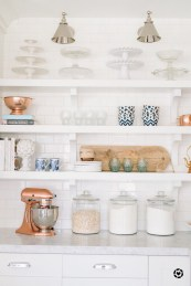 35 Kitchen Shelves Ideas That Make Your Kitchen Look Neat Tips On How To Choose The Right Unit 33