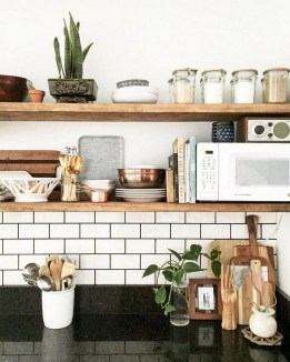 35 Kitchen Shelves Ideas That Make Your Kitchen Look Neat Tips On How To Choose The Right Unit 34
