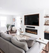 38 Most Popular Modern Living Room Decoration Ideas That Look Comfortable 14