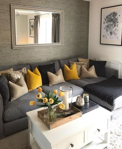 38 Most Popular Modern Living Room Decoration Ideas That Look Comfortable 20