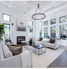 38 Most Popular Modern Living Room Decoration Ideas That Look Comfortable 23