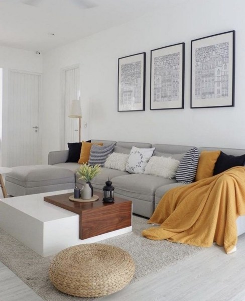 38 Most Popular Modern Living Room Decoration Ideas That Look Comfortable 38