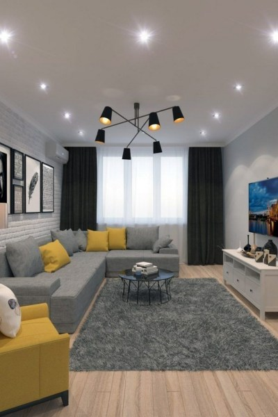 38 Most Popular Modern Living Room Decoration Ideas That Look Comfortable 9
