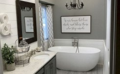 47 Best Master Bathroom Remodeling On A Budget Ideas 34