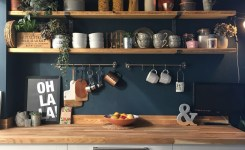 52 Most Popular Kitchen Shelves Ideas For Inspiring Your Kitchen Design 38