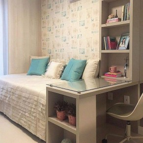 55 Model Bedroom Furniture Design Ideas For Small Functional Spaces 17