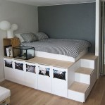 55 Model Bedroom Furniture Design Ideas For Small Functional Spaces 26