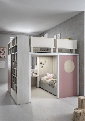 55 Model Bedroom Furniture Design Ideas For Small Functional Spaces 34