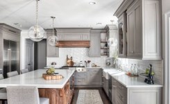 83 Grey Kitchen Wood Island Tips To Designing It Look Luxurious 1