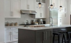 83 Grey Kitchen Wood Island Tips To Designing It Look Luxurious 10
