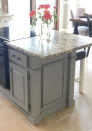 83 Grey Kitchen Wood island - Tips to Designing It Look Luxurious 2428