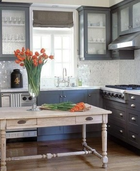 83 Grey Kitchen Wood island - Tips to Designing It Look Luxurious 2435