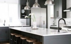 83 Grey Kitchen Wood Island Tips To Designing It Look Luxurious 41