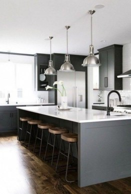 83 Grey Kitchen Wood island - Tips to Designing It Look Luxurious 2438
