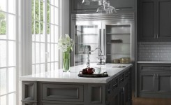83 Grey Kitchen Wood Island Tips To Designing It Look Luxurious 43