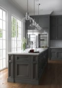 83 Grey Kitchen Wood island - Tips to Designing It Look Luxurious 2440