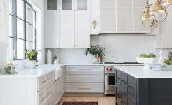 83 Grey Kitchen Wood Island Tips To Designing It Look Luxurious 9