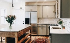 83 Grey Kitchen Wood Island Tips To Designing It Look Luxurious