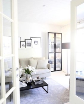 92 Amazing Living Room Designs and Ideas for Your Studio Apartment 2823