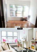 92 Amazing Living Room Designs and Ideas for Your Studio Apartment 2827