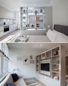 92 Amazing Living Room Designs and Ideas for Your Studio Apartment 2833