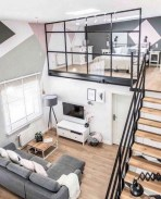 92 Amazing Living Room Designs and Ideas for Your Studio Apartment 2834