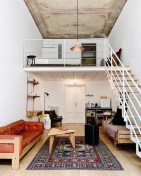 92 Amazing Living Room Designs and Ideas for Your Studio Apartment 2861