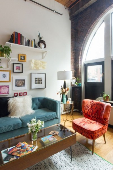 92 Amazing Living Room Designs and Ideas for Your Studio Apartment 2813