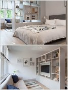 92 Amazing Living Room Designs and Ideas for Your Studio Apartment 2814