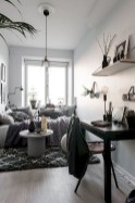 92 Amazing Living Room Designs and Ideas for Your Studio Apartment 2896