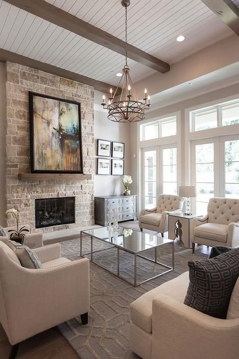 92 Beautiful Living Room Ceilings for Your Living Room Design Inspiration 4160