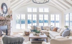 92 Beautiful Living Room Ceilings For Your Living Room Design Inspiration 11