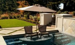 97 Most Popular Backyard Designs With Pool Ideas 55