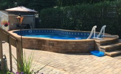 97 Most Popular Backyard Designs With Pool Ideas 65