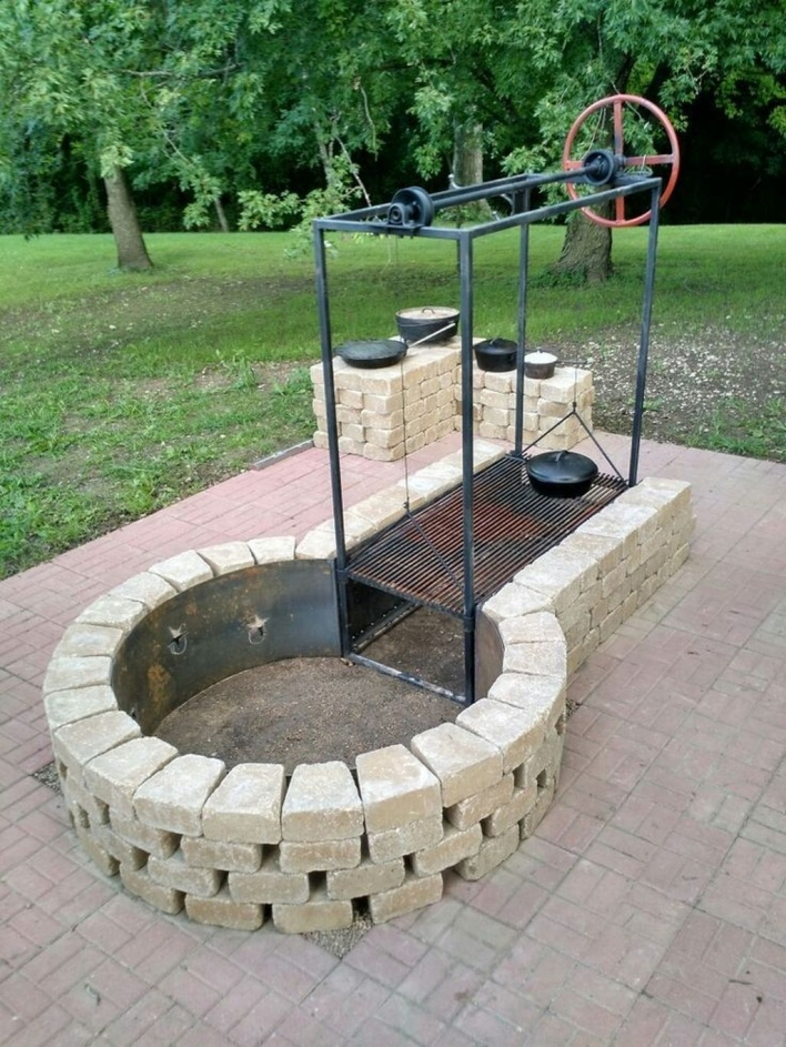 69 Backyard Firepit Design that Inspires - How to Improve Your Landscape with A Backyard Firepit 6418