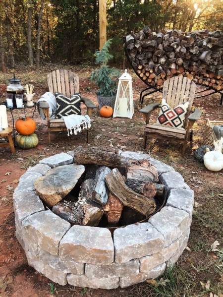 69 Backyard Firepit Design that Inspires - How to Improve Your Landscape with A Backyard Firepit 6440