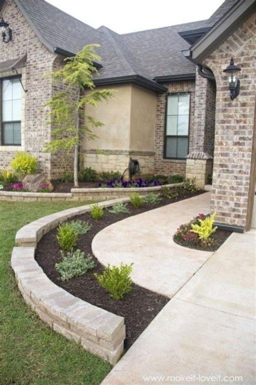 72 Amazing Front Yard Landscaping for Plans 4494