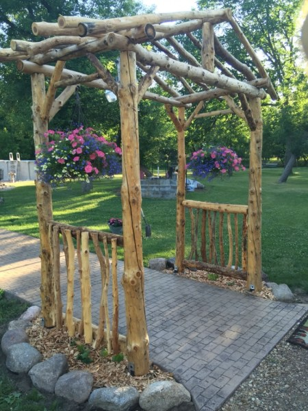 84 Backyard Decoration Ideas for Transform Your Backyard with A Quality Wood Pergola or Arbor 6330