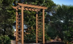 84 Backyard Decoration Ideas For Transform Your Backyard With A Quality Wood Pergola Or Arbor 11